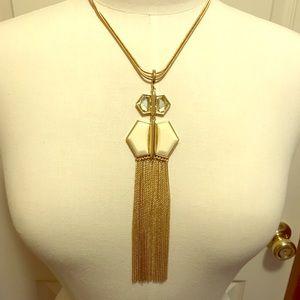 Jewelry - Fringe Statement Necklace
